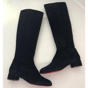 Christian Louboutin Shoes - New Christian Louboutin Lili Boots Black SZ 40.5